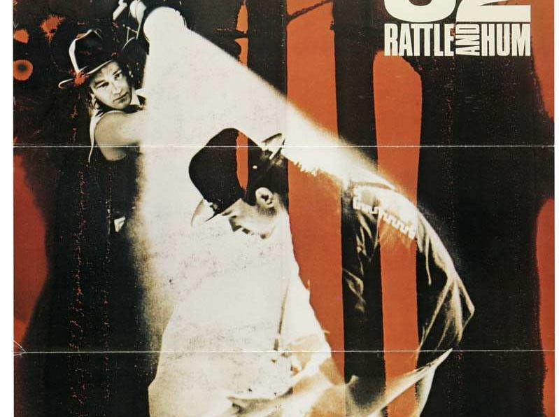 """U2: Rattle and Hum"" (1988) - The documentary of the rock group's 1987 North American tour as well as a stop at Sun Studios in Memphis."