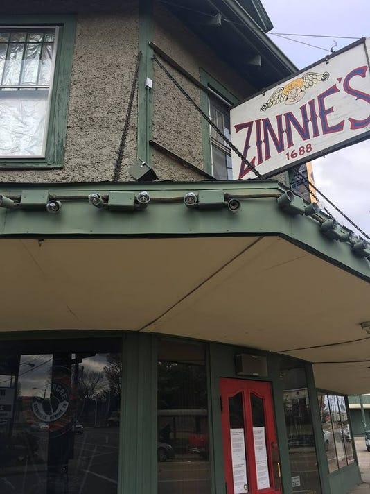 Zinnies Sign
