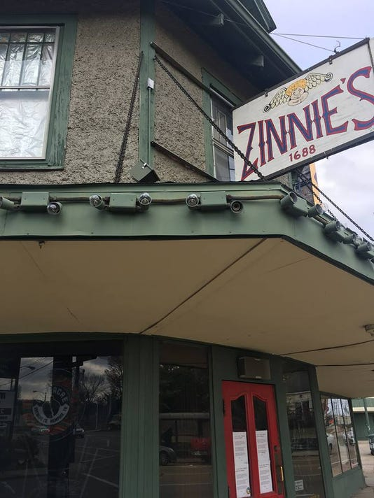 Zinnies Sign