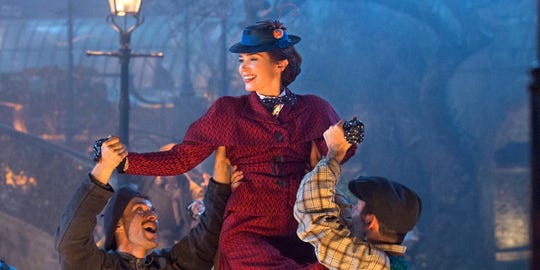 """Will she be practically perfect in every way? Emily Blunt in """"Mary Poppins Returns."""""""