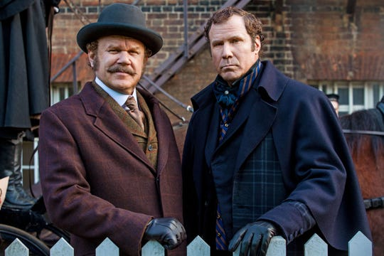 """Elementary, my dear Watson? Here's hoping you don't have to be in elementary school to enjoy John C. Reilly and Will Ferrell in """"Holmes & Watson."""""""