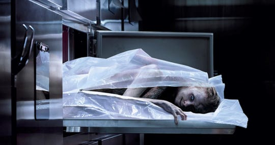 """Judging from this image, maybe """"The Possession of Hannah Grace"""" is actually scary."""