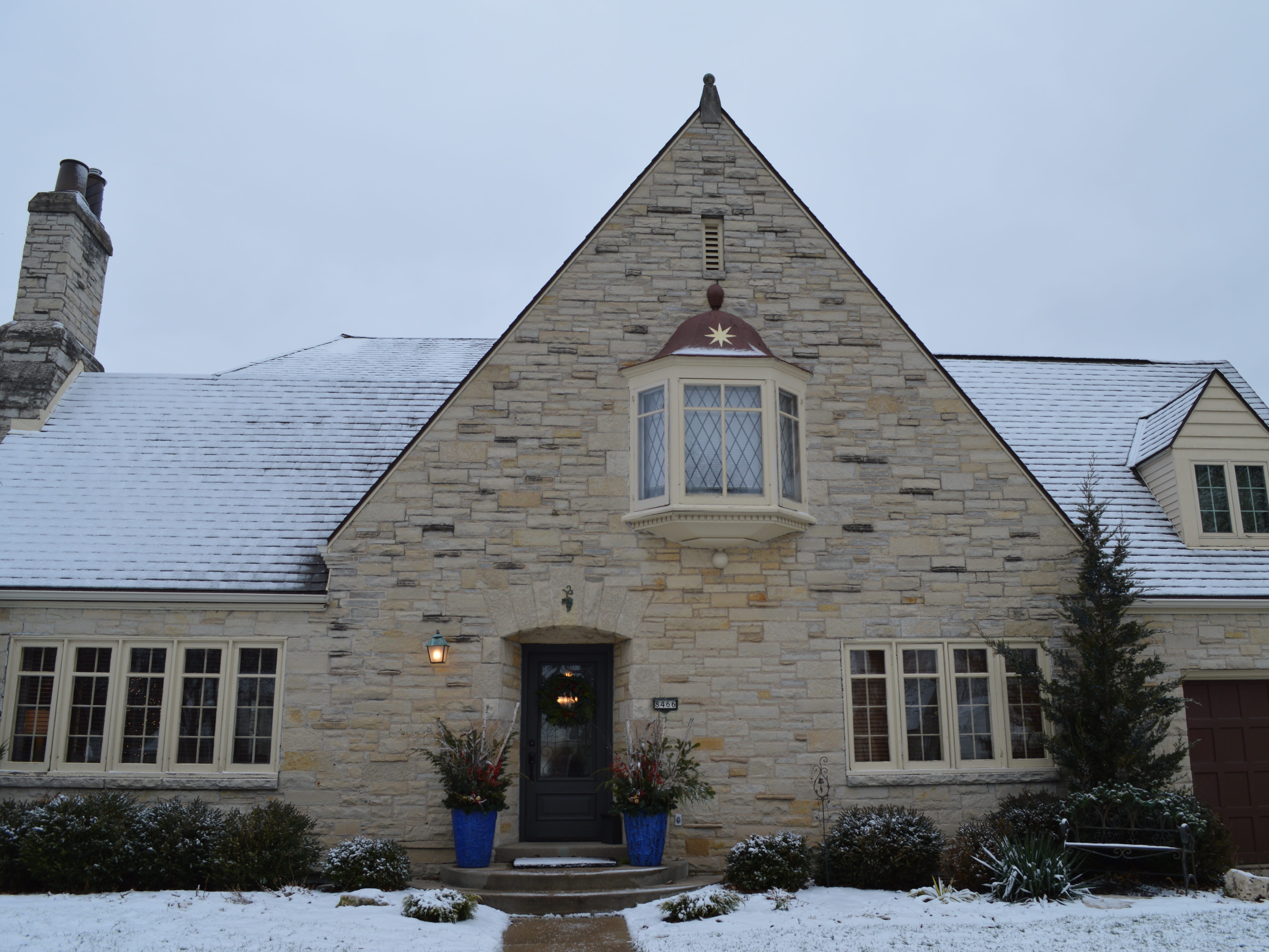 Dann and Kathy Oelstrom's home, 8466 Ravenswood Circle, Wauwatosa, will be featured on the Wauwatosa Woman's Club's first Christmas Tour of Homes.