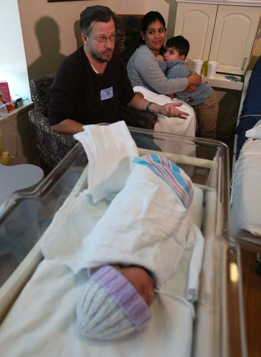 Baby Arrives In Brookfield Hotel Parking Lot