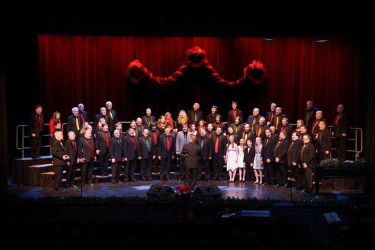 Midwest Vocal Express will put on its annual Christmas show at 2:30 and 7:30 p.m. Dec. 8 at the Saber Center for the Performing Arts in Franklin. They will be joined by Vintage Mix and Midnight Croon.