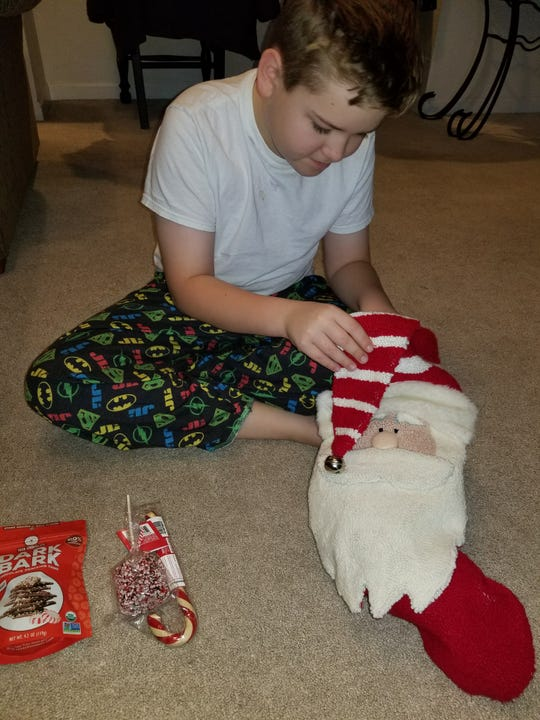 Many families use specially designed stockings for their St. Nick's traditions.