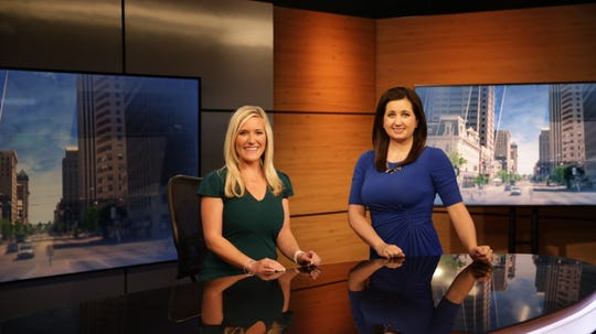 Alyson Bruner (left, shown with meteorologist Kristin Ketchell), will anchor Spectrum News 1's 6 p.m. weekend newscast.