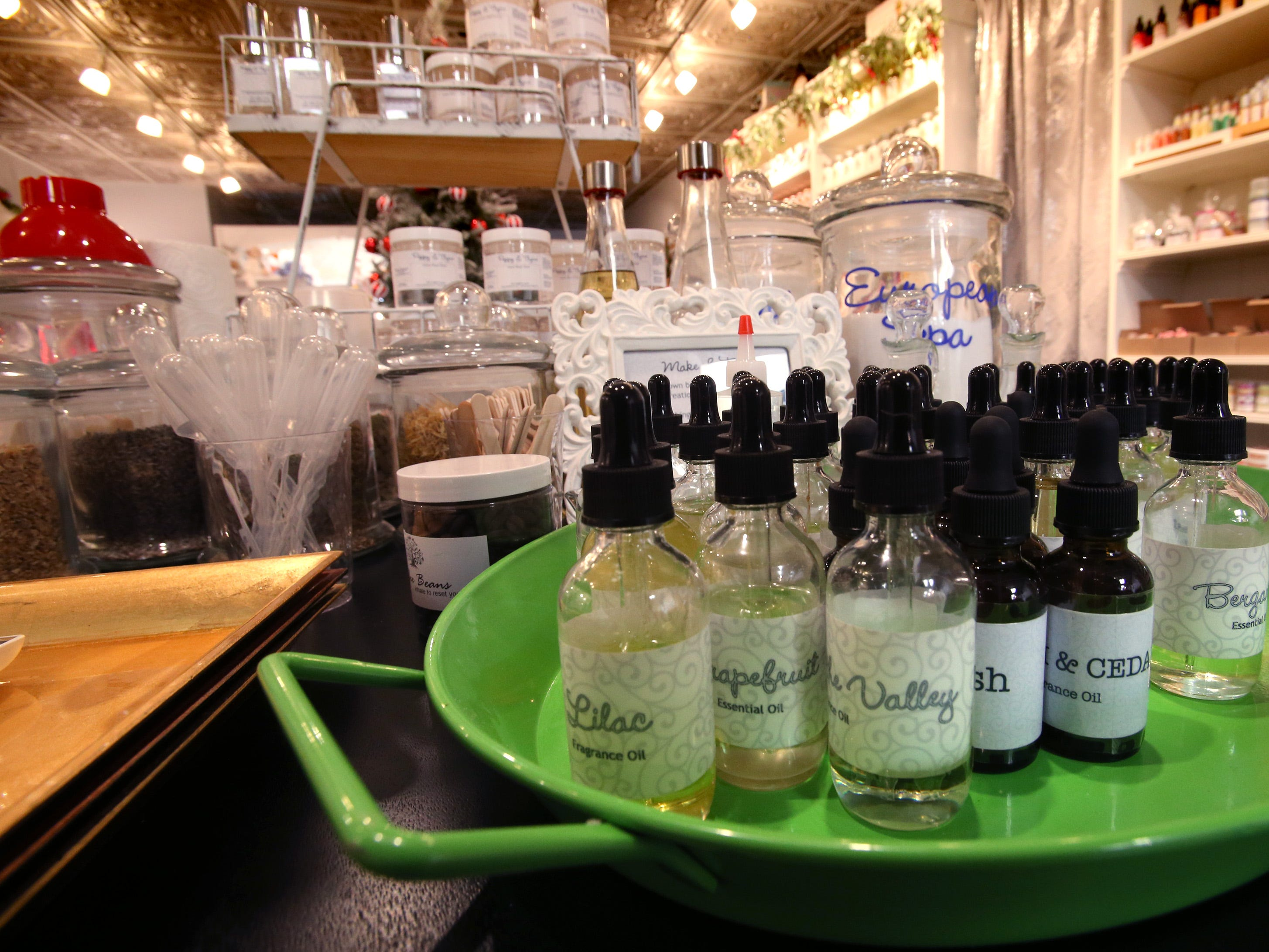 Poppy & Thyme battles big box retail with unique products, like customer-made perfume, cologne and bath salts at N88 W16726 Appleton Ave.