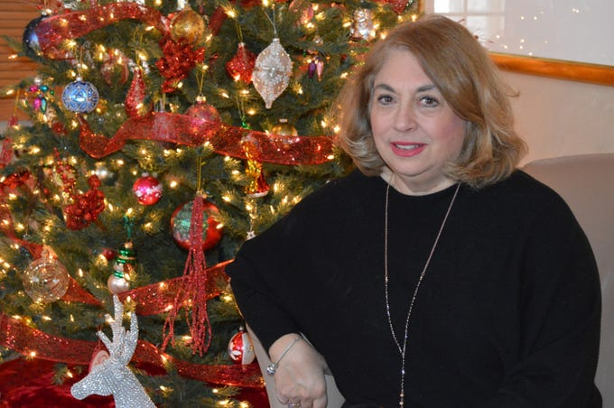 Kathy Oelstrom is the organizer of the Wauwatosa Woman's Club's first Christmas Tour of Homes.