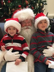 St. Nick's traditions are often related in some way to Christmas, such as with Jonathan and James Bertrand.