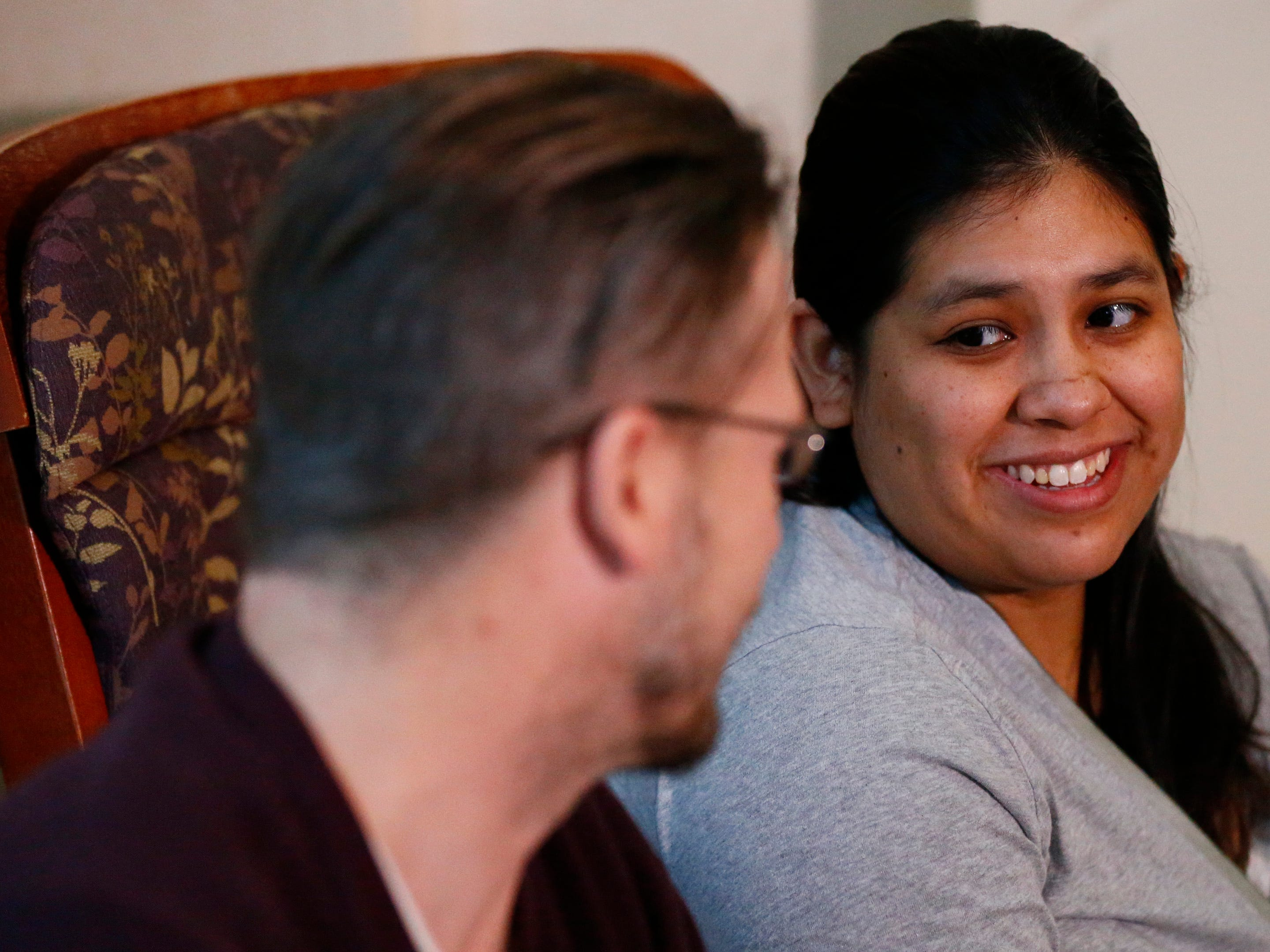 Mayda Cardona describes the frantic moments when Layla Cardona-Brunk arrived Nov. 26 in the front seat of the family car when she and husband Jason Brunk stopped in the Country Inn & Suites parking lot while en route to the hospital.