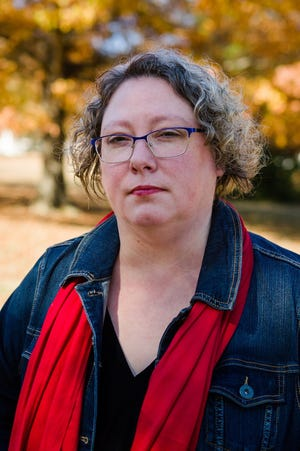 Kadie Campbell is a graduate student who spends most of her class hours in the field, helping prisoners at a women's prison. She was dropped from Arkansas Works by an automated system, which failed to properly record her mandatory work hours.