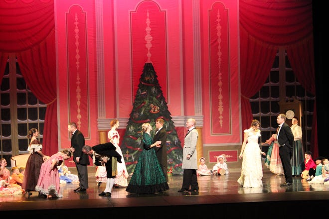 """The fourth annual """"The Great Montgomery Nutcracker"""" from Alabama River Region Ballet will be presented this weekend at Troy University's Davis Theatre in Montgomery."""