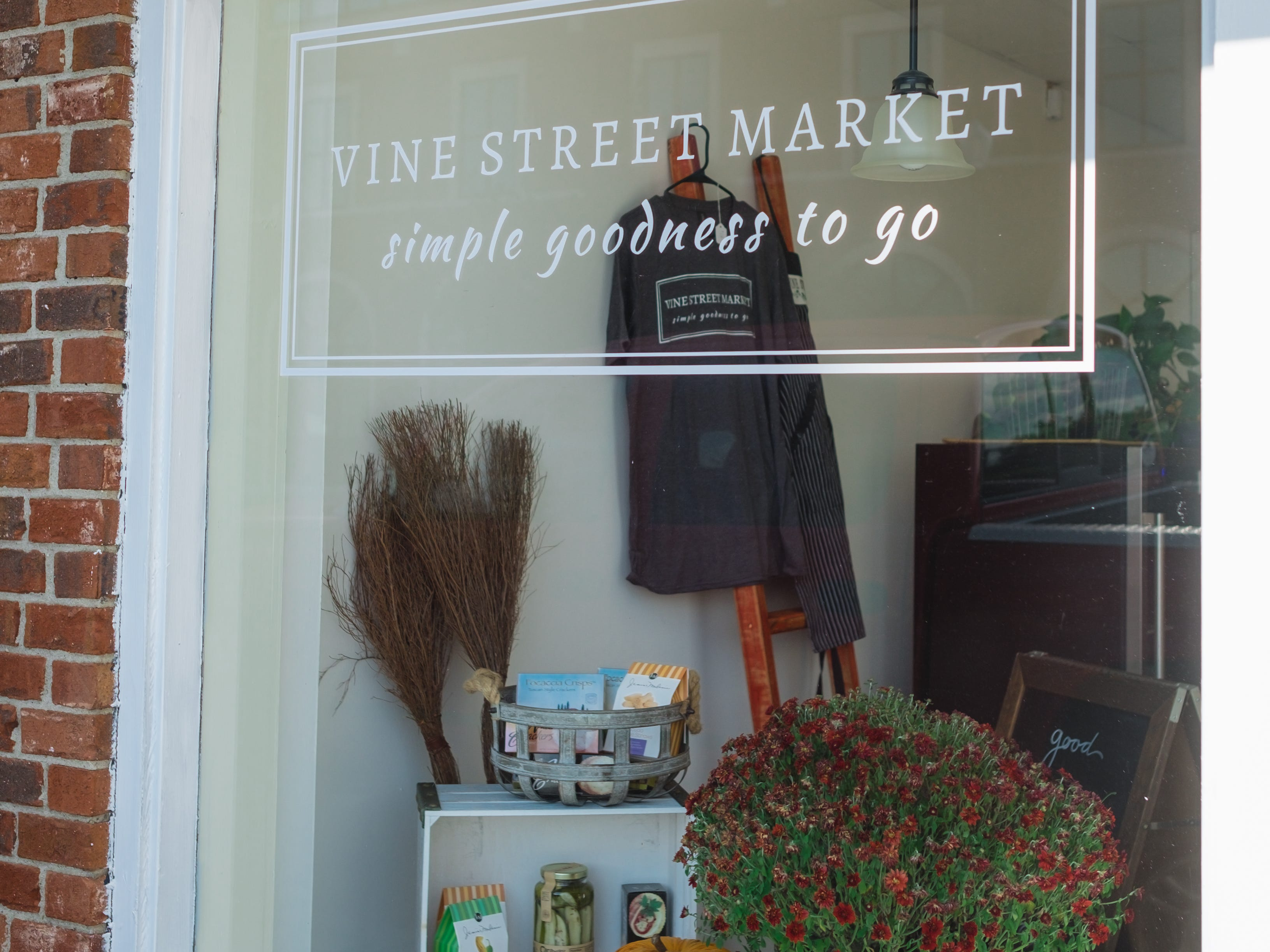 Vine Street Market, located near the intersection of Vine and Church Streets in downtown Murfreesboro, offers food items that can be reheated for dinner, and several gift options.