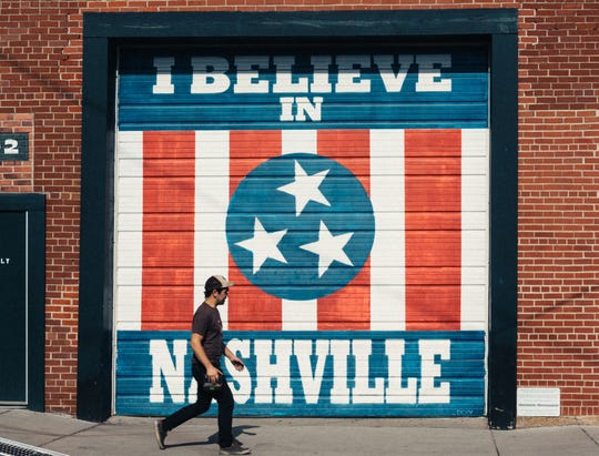 """A scene from """"Nashville,"""" featuring photos by Heidi Ross and text by Ann Patchett."""