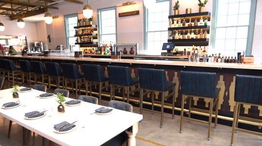 The bar area at Hathorne restaurant generates 25 to 30 percent of the restaurant's revenue, the owner said.