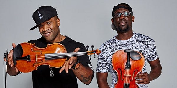 Black Violin will perform at War Memorial Auditorium on May 9.