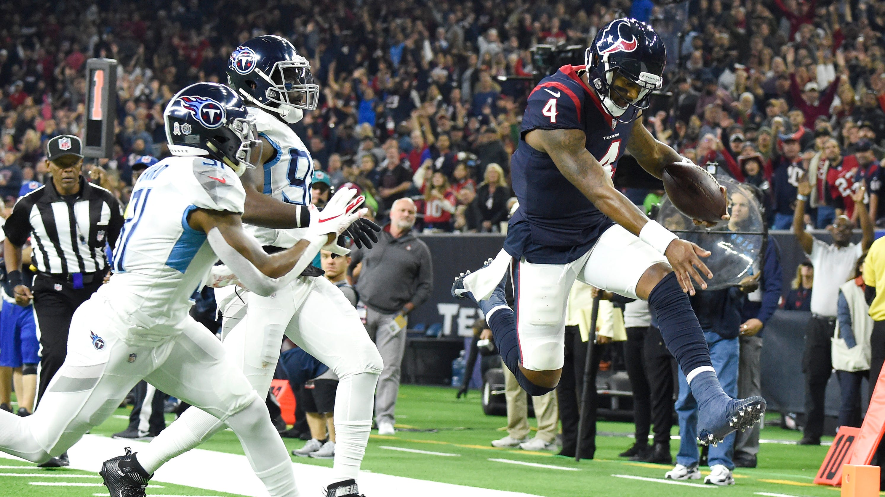3915e8f9a Tennessee Titans' season fading fast after pummeling by Houston Texans
