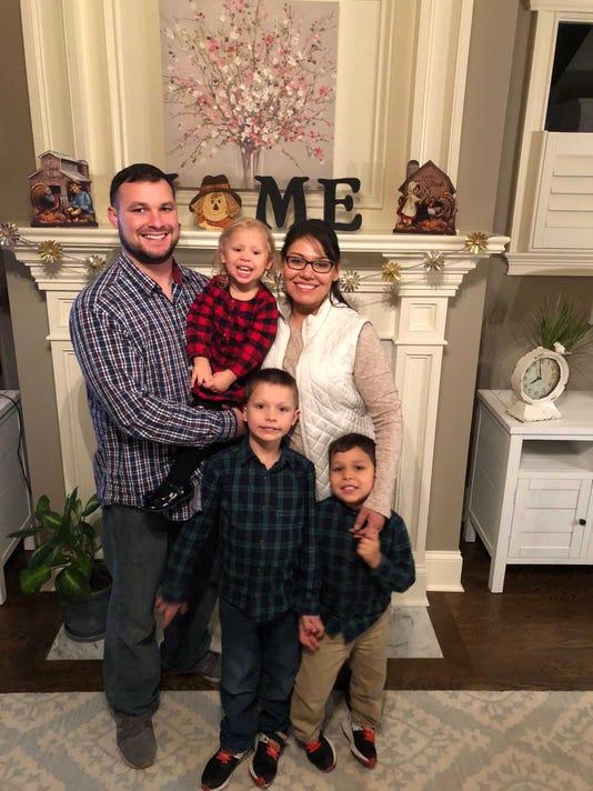 Robert Baker and family