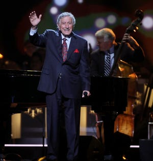 Tony Bennett, seen performing at the 2018 CMA Country Christmas in September, performs Friday at Fantasy Springs Resort Casino.