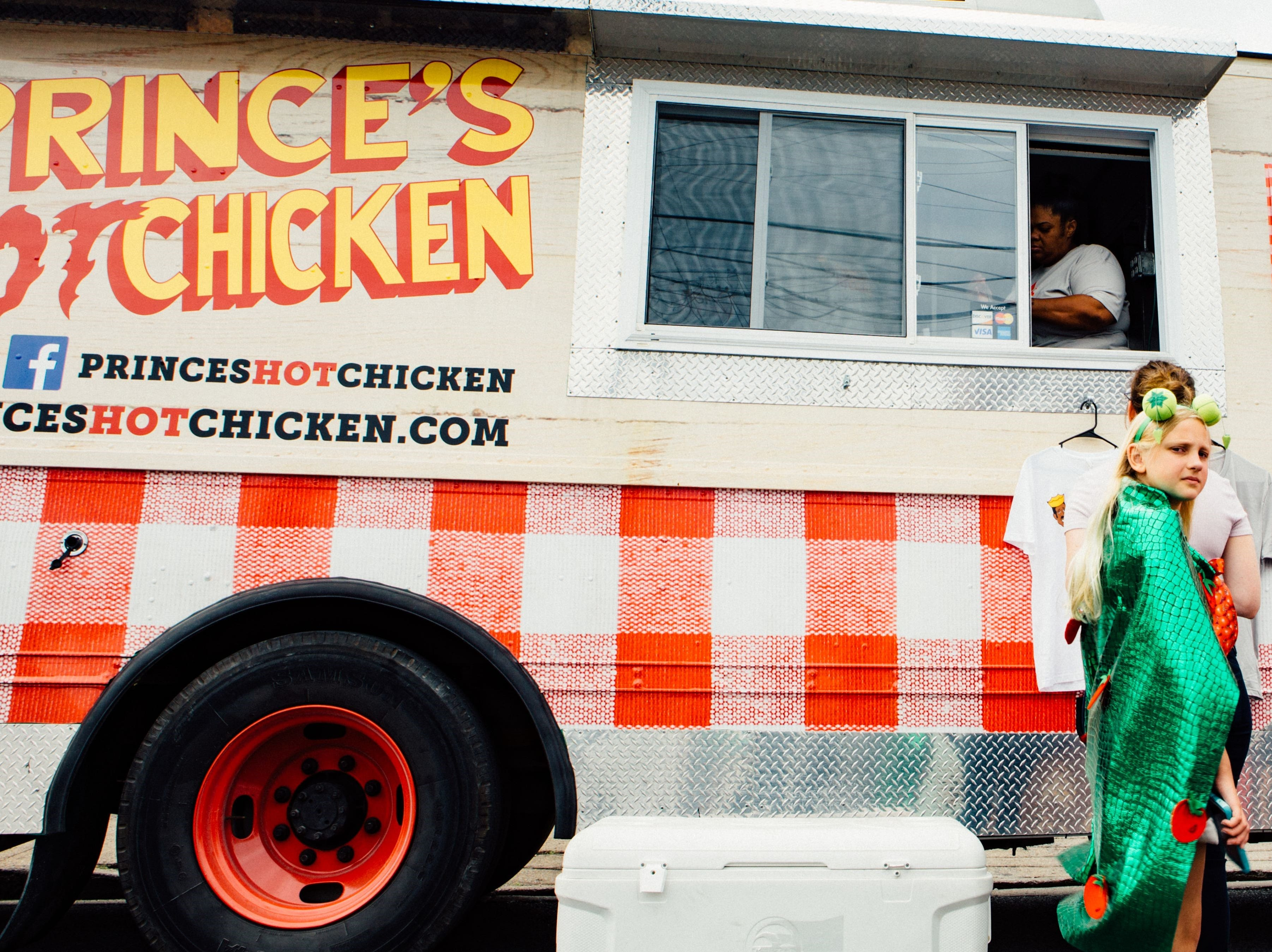 Nashville's classic Prince's Hot Chicken takes to the streets in a food truck.