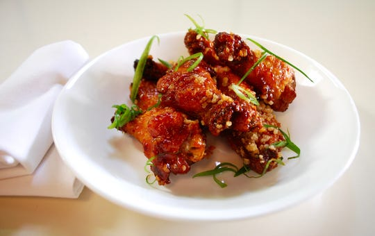 Red Dragon chicken wings at Mop/Broom Mess Hall.