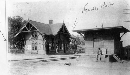 Peter Jacullo lived across the street from the Wood-Ridge train station while he was growing up.