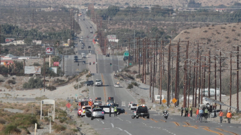 Palm Springs crash kills driver and pedestrian