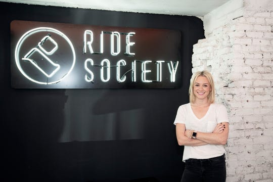 Claire Campbell, owner of Ride Society.