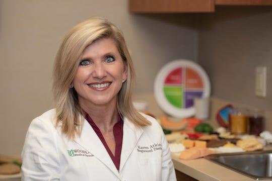 Karen Atkins, registered dietician.