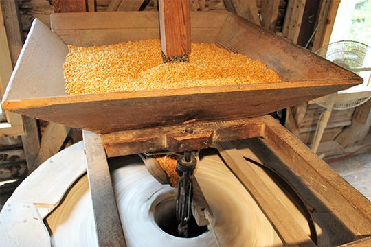 See a working mill in action and taste the results at Nora Mill Granary near Helen, Georgia.