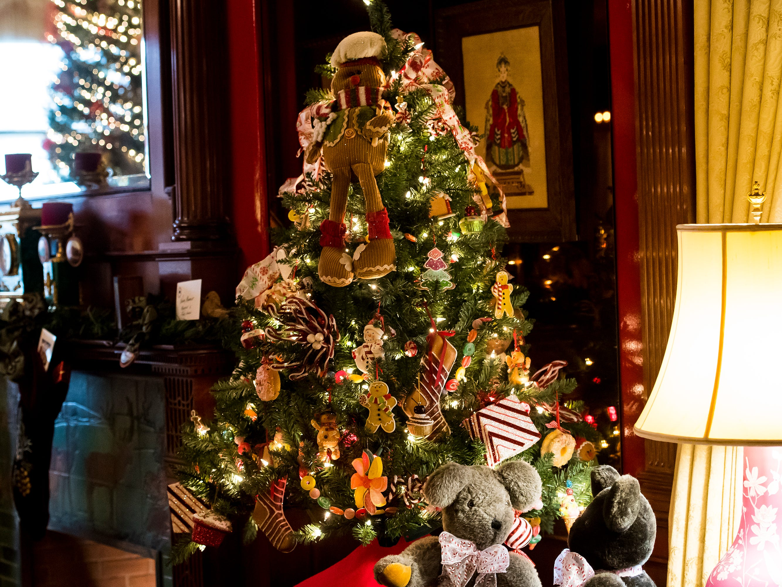 Hanover Home and Garden decorated this gingerbread-themed tree several years ago and it is still a part of the Warehime-Myers Mansion Christmas tree tour in Hanover. Tree tours are currently being offered and a schedule can be found on the Hanover Area Historical Society's Facebook page.