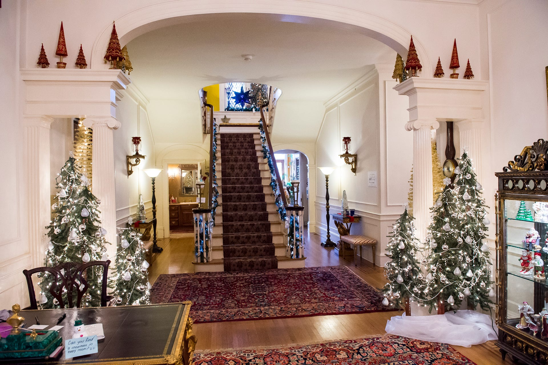 Photos Christmas Tree Tour At The Warehime Myers Mansion