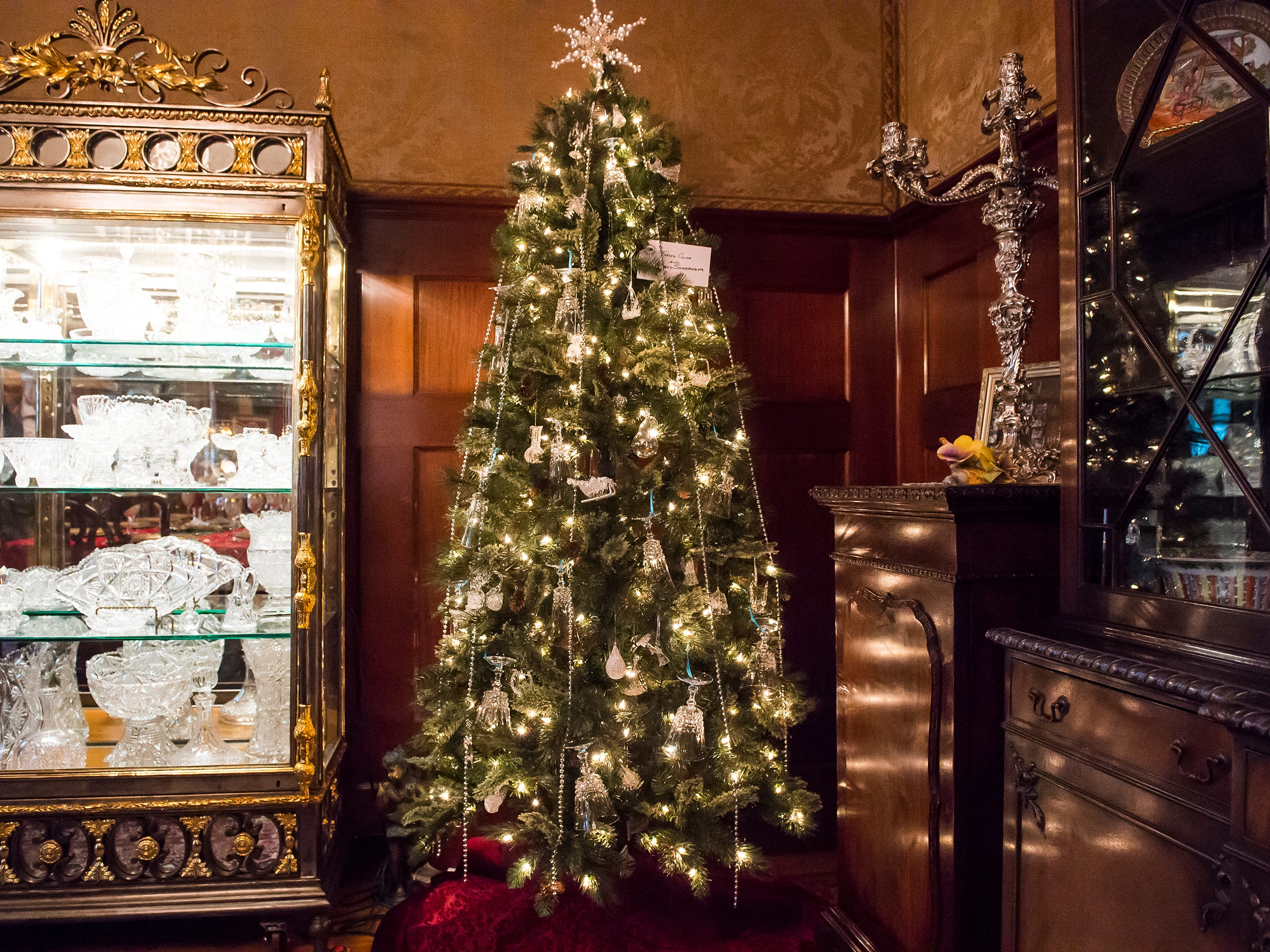 Over 40 decorated Christmas trees are on display at the Warehime-Myers Mansion in Hanover. Tree tours are currently being offered and a schedule can be found on the Hanover Area Historical Society's Facebook page.