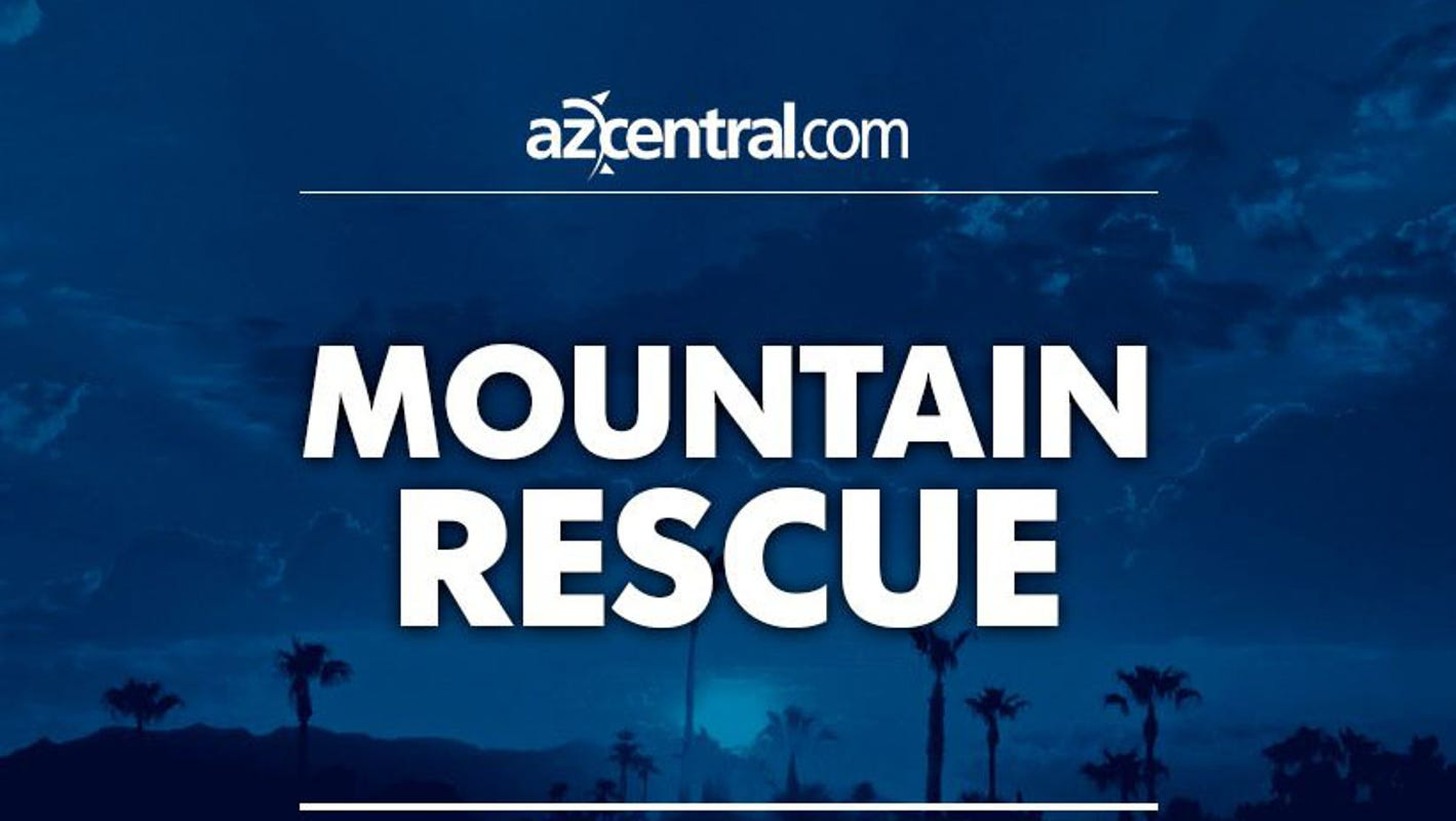 Phoenix fire evacs heat-exhausted woman from Camelback Mountain