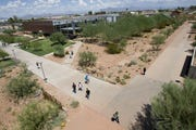 A sexual assault was reported at a dorm on Arizona State University'sPolytechnic campus in Mesa on Saturday, according to ASU police.