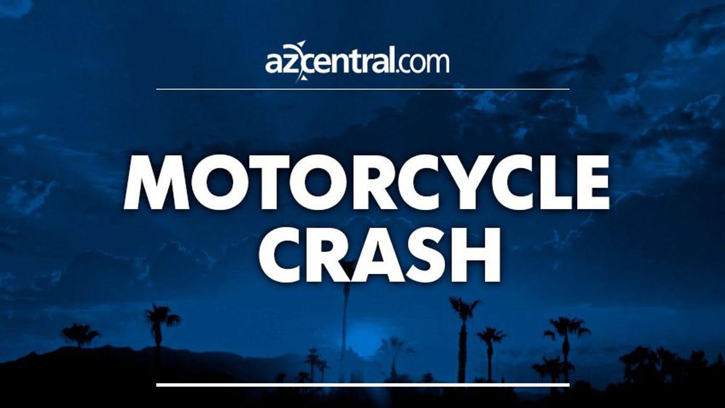 Motorcyclist suffers life-threatening injuries after crash near Mesa
