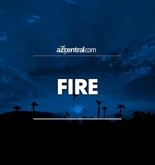 Fire vertical placeholder