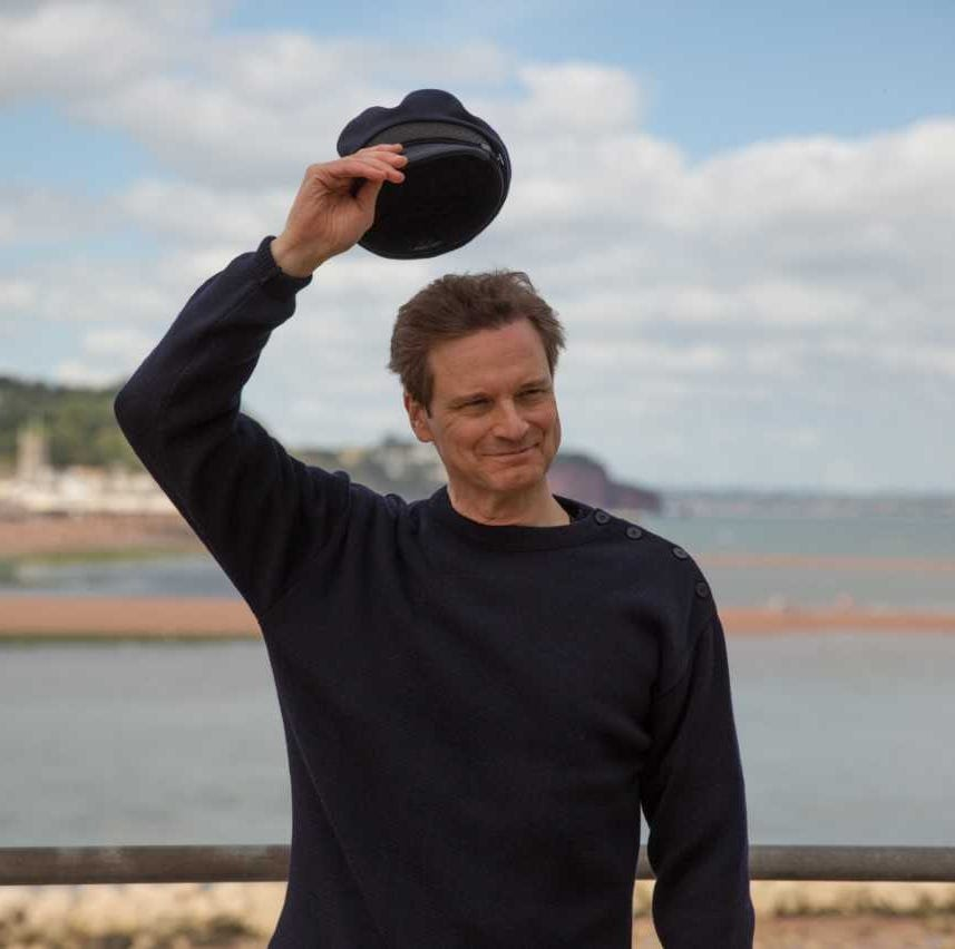 "Colin Firth plays Donald Crowhurst in ""The Mercy."""