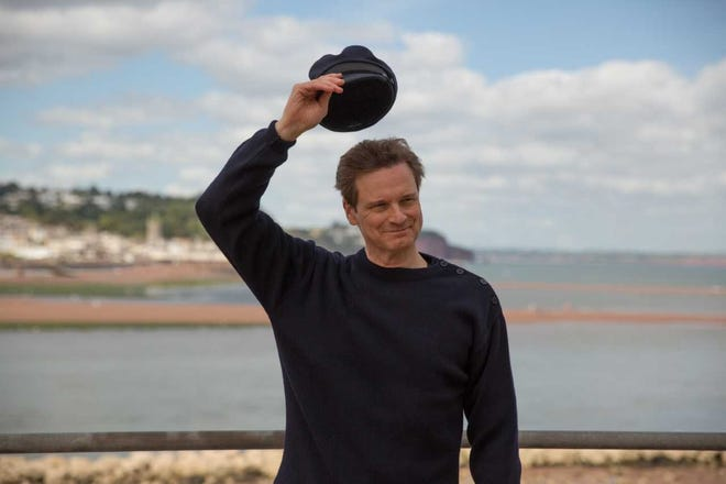 """Colin Firth in """"The Mercy."""""""