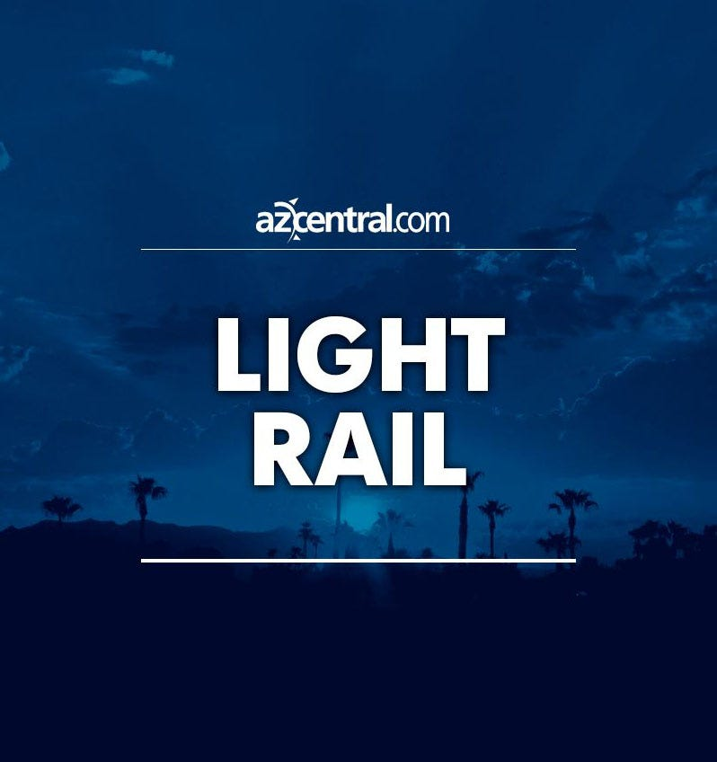 Motorist in critical condition after crash into light-rail pole in Phoenix