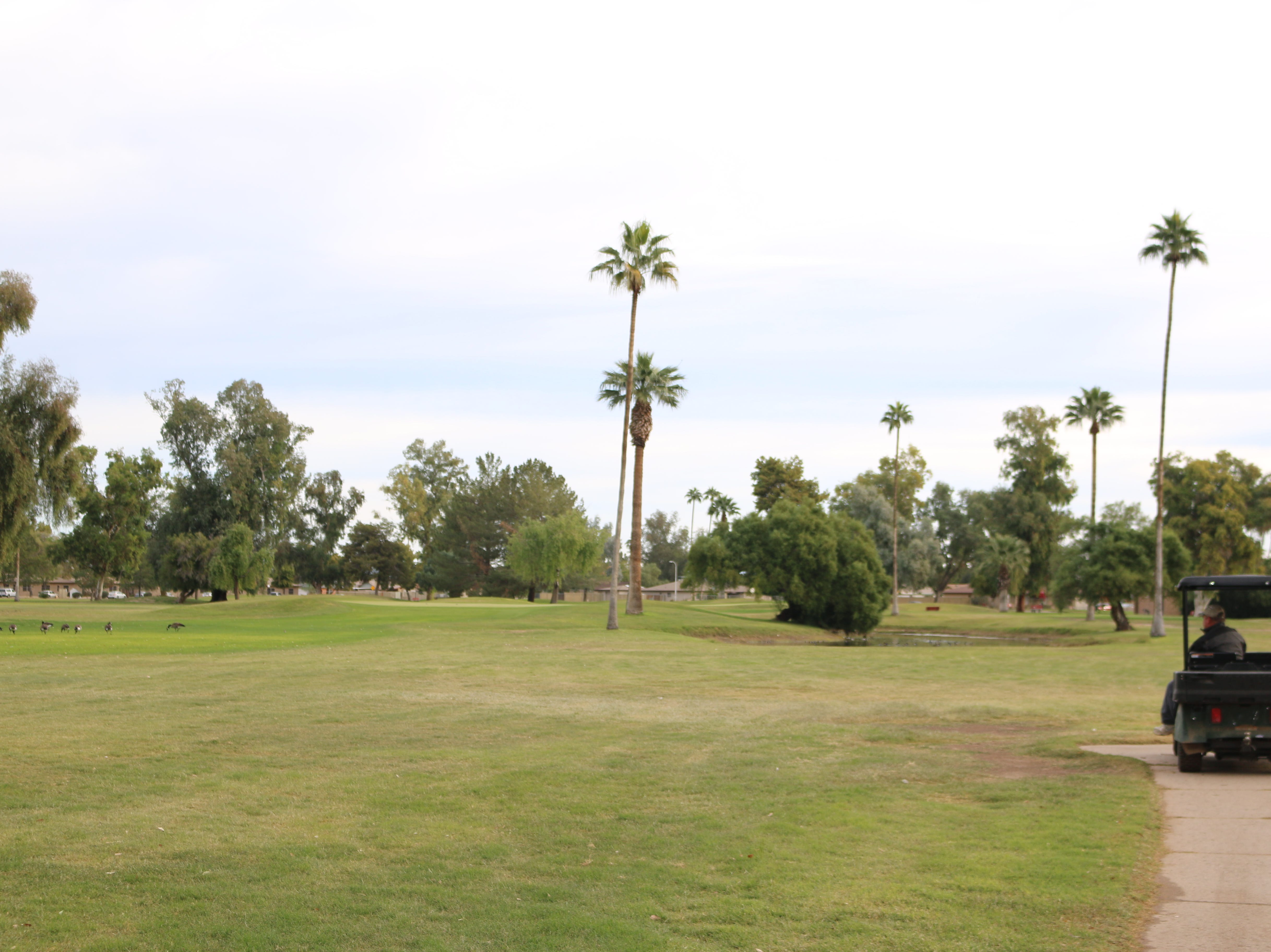 Glen Lakes Golf Course in Glendale has seen improvements in the last year, but the buildings are in bad shape.