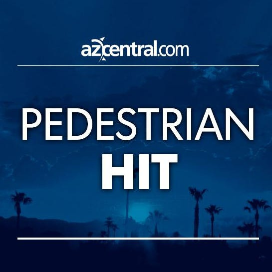 Pedestrian struck, killed after being hit by car in Phoenix