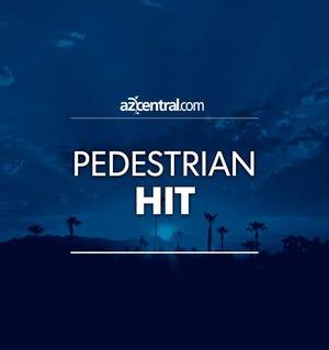 Pedestrian hit