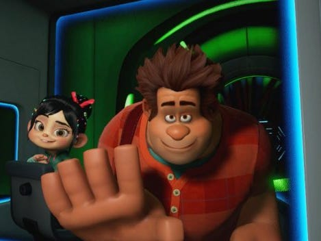 At The Void in Downtown Disney, guests enter the animated world of Wreck-It Ralph in Ralph Break VR, a virtual-reality attraction.