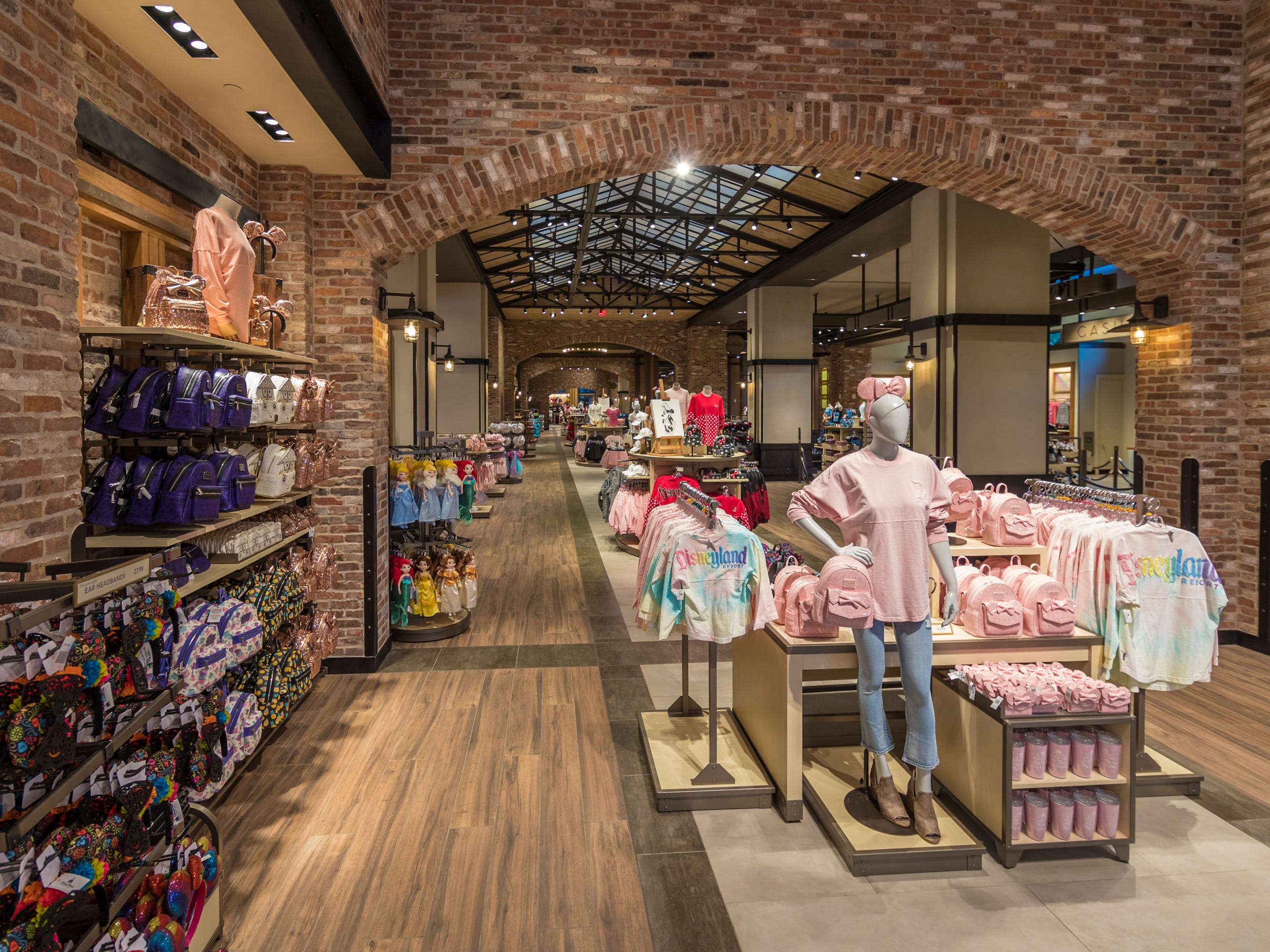 Disney recently debuted the remodeled World of Disney, the shopping destination at the Downtown Disney District. It now features a reimagined layout that makes shopping easier.