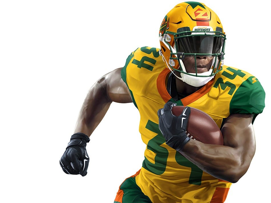 A look at the Arizona Hotshots uniform.