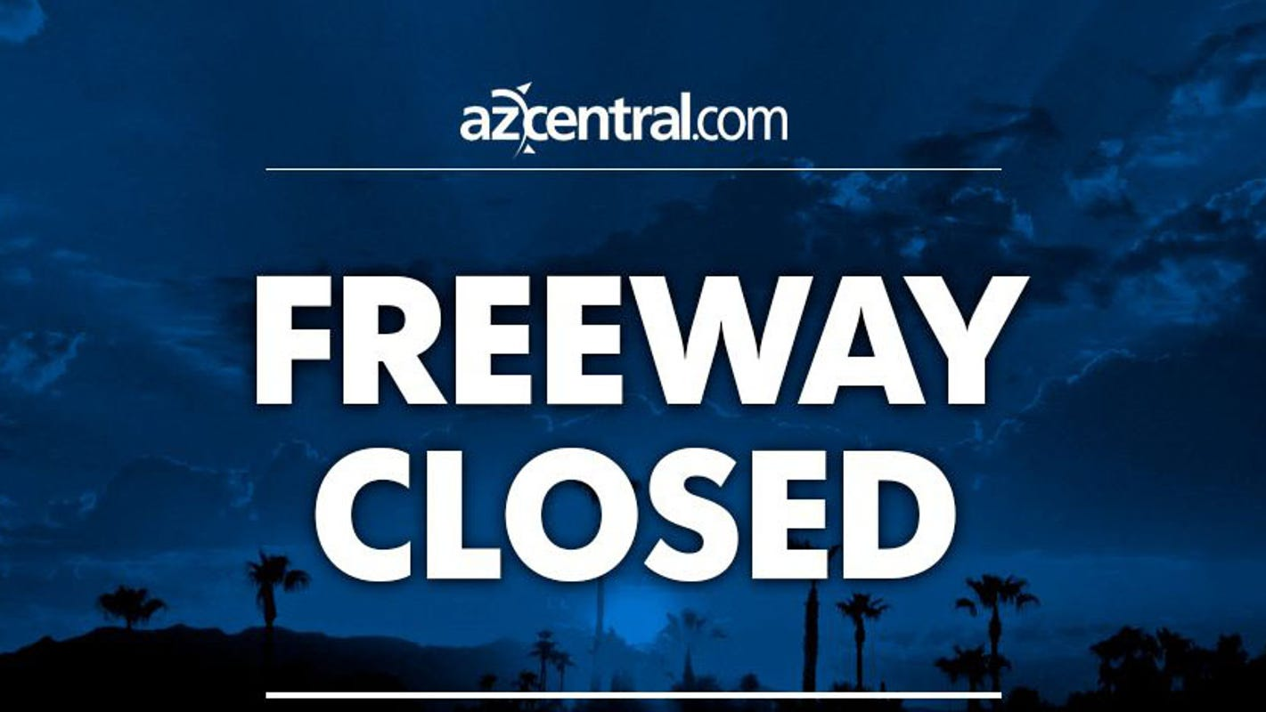 Westbound I-10 lanes closed near Eloy after crash