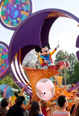 """Mickey's Soundsational Parade"" returns to Disneyland park starting Jan. 25, 2019. The sound of dynamic rhythms and bold percussion will accompany Mickey Mouse and beloved Disney characters as they stomp and strut along Main Street."