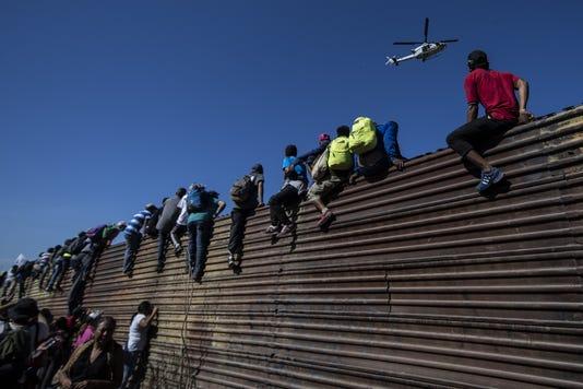 Topshot Mexico Honduras Us Migration